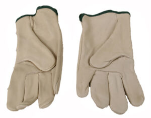 Leather Gloves - Medium-0