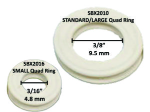MEASURE INSIDE OF QUAD RING FOR SIZE